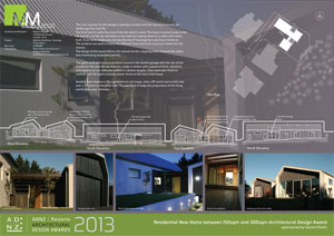 Residential new home between 150sqm and 300sqm architectural design award